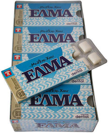 Η λέξη ELMA δεν μπορεί να κατοχυρωθεί ως διεθνές σήμα για προϊόντα μαστίχας Χίου
