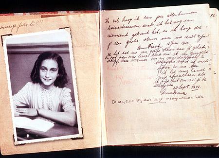 Ανακινείται το ζήτημα του copyright στο ημερολόγιο της Άννας Φρανκ