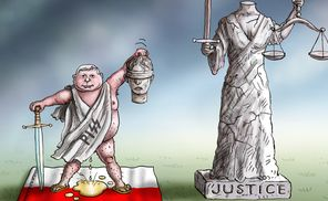 kacinski and the justice in poland: marian kamensky