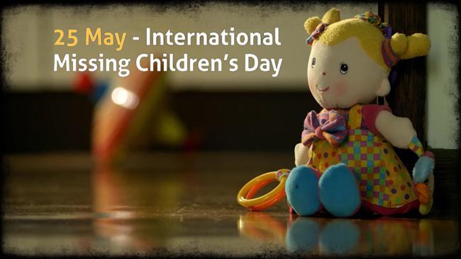 25 Μαίου Παγκόσμια Ημέρα για τα Εξαφανισμένα Παιδιά