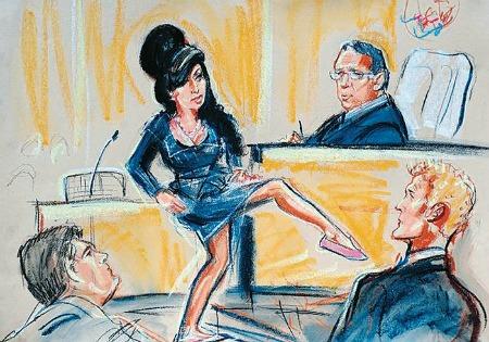 Stars στο δικαστήριο: εικονογραφημένη παράθεση υποθέσεων