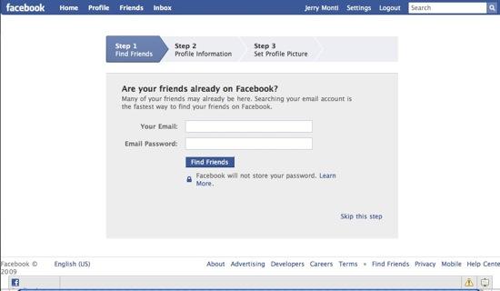 Η εφαρμογή «βρείτε τους φίλους σας στο facebook» προκαλεί παρενοχλητική διαφήμιση