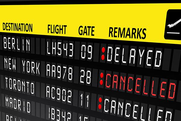 Αποζημίωση των επιβατών σε περίπτωση ματαίωσης ή καθυστέρησης πτήσης